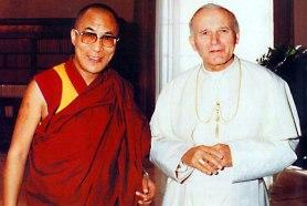 Dali-Lama-and-Pope-John-Paul-II