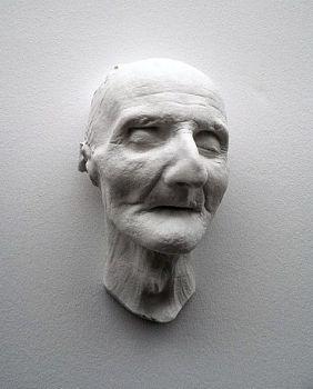 death mask Bruckner